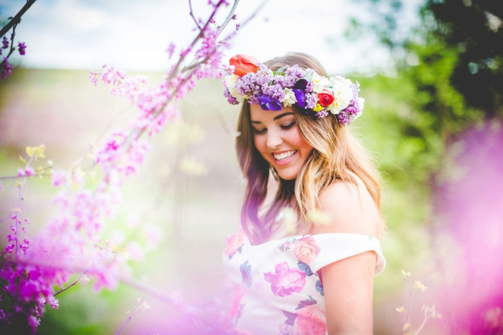 Bright colors make for beautiful spring photography.