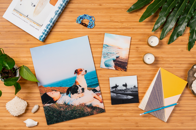 Be picky about which vacation photos you display.