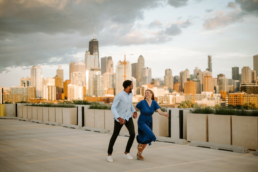 The right location can make your engagement photos magical.