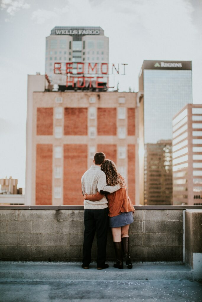 Recreate your first date in your engagement photos.