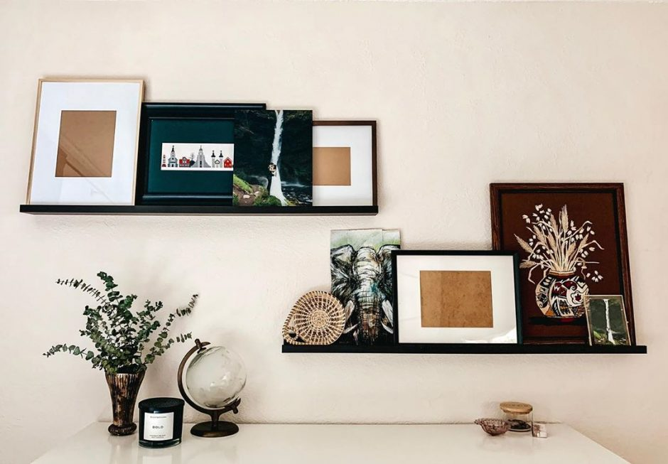 Overlap your decor for a layered look