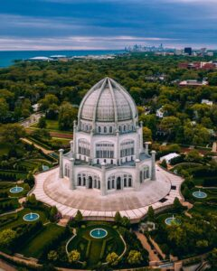 The Baha'i Temple in Wilmette