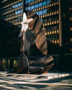 Iconic Chicago landmark, the Chicago Picasso.